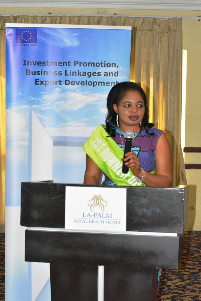 Investment Promotion, Business Linkages and Export Development at La-Palm Royal Beach Hotel