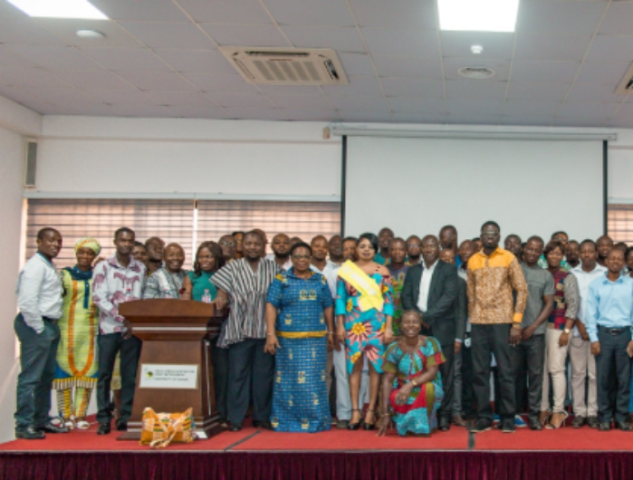 Group Picture from the Cowpea/Maize Value Chain